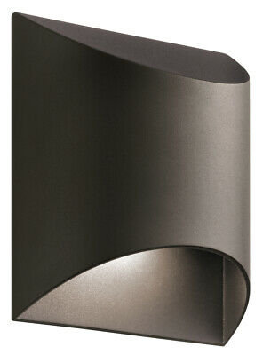 Kichler AZTLED Wesley Outdoor Wall Light, Textured