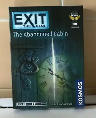 Kosmos Exit: The Abandoned Cabin Game Board