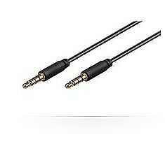 Microconnect IPOD011 audio cable 0.5 m Black - IPOD011