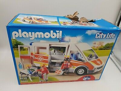 PLAYMOBIL Ambulance with Lights and Sound - City Life