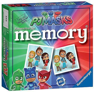 Ravensburger PJ Masks Mini Memory Card Game for