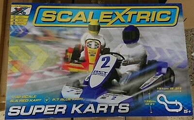 SCALEXTRIC C Super Karts Racing Set