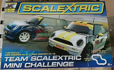SCALEXTRIC C Team Scalextric Mini Challenge Racing Set