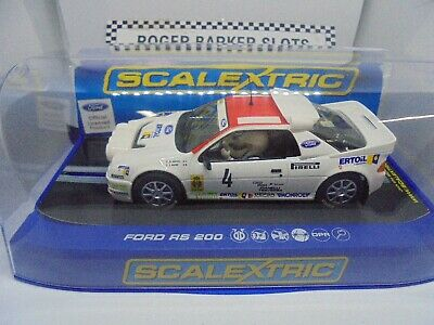 Scalextric C Ford RS  Antonio Zanini lights /DPR
