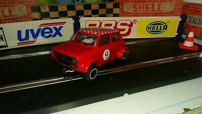 Scalextric C122 Mini  GT Clubman Racing Car. Red. Spares
