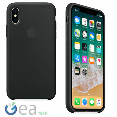 Silicone Case Original Apple for IPHONE x Back Cover Case
