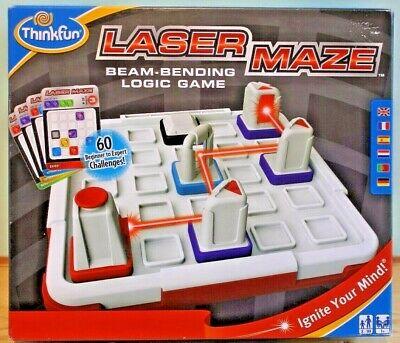 THINKFUN - LASER MAZE- Beam Bending Logic Game - Brand New -