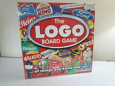 The Logo Board Game By Drummond Park New and Sealed