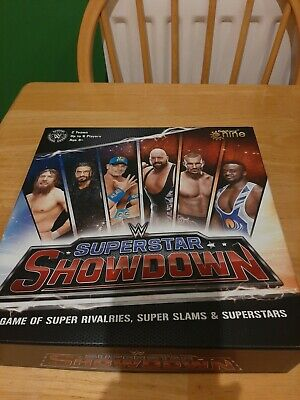 WWE Superstar Showdown The Board Game. Brand New. Retired