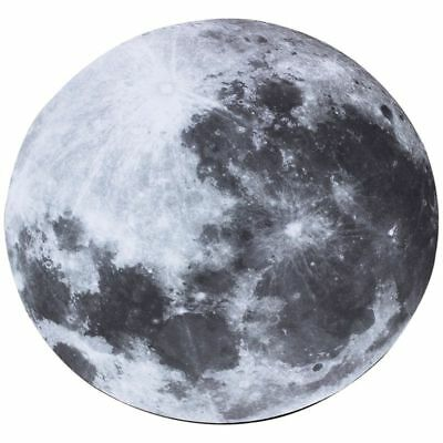 8 inch 20cm Grey Moon Light Mouse Pad Mat For Computer