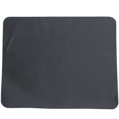 Black Optical Mouse Pad Mat Black for Laptop PC W6C2 1L
