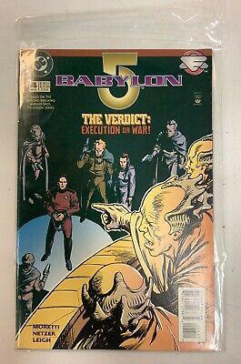 Babylon 5 The Verdict Execution Or War! DC Comic Book April