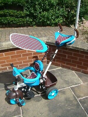 LITTLE TIKES 4 IN 1 BLUE SPORTS EDITION TRIKE