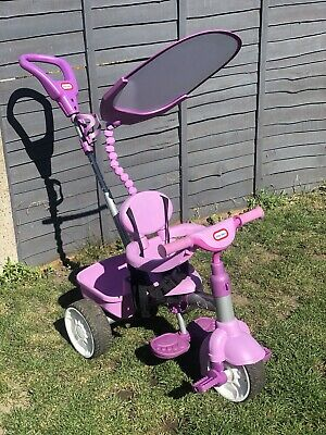 Little Tikes 4 in 1 Baby/Toddler Outdoor Trike - Purple