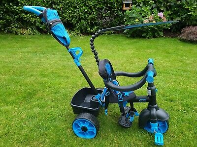 Little Tikes 4 in 1 Baby/Toddler Outdoor Trike - blue.