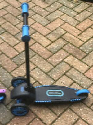 Little Tikes Scooter Tilt-Lean Steering Black And Blue