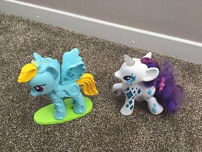 My Little Pony Play Doh Pony Glamour Glow Rarity Pony