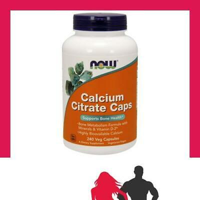 NOW Foods - Calcium Citrate with Minerals & Vitamin D-2