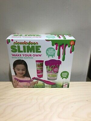 New Nickelodeon slime kit. Make your own slime Birthday