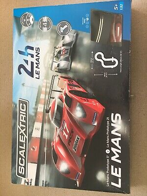 SCALEXTRIC C Le Mans Sports Cars Set + SCALEXTRIC C