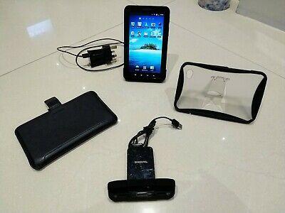 Samsung Galaxy Tab GT-PGB, Wi-Fi + 3G, 7in and 2