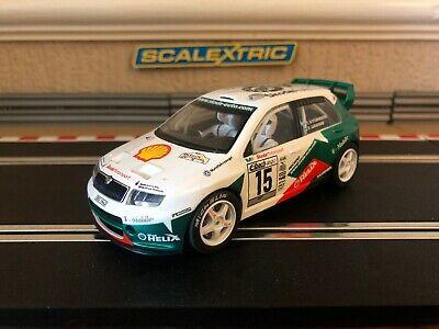 Scalextric Skoda Fabia WRC No15 C Fully Serviced & New