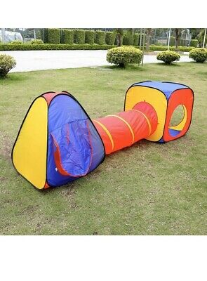 3pcs Childrens Kids Baby Play Tent And Tunnel Ball Pit