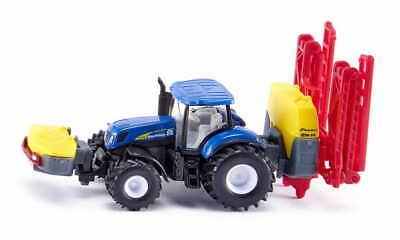 Siku Traktor New Holland z opryskiwaczem, Siku