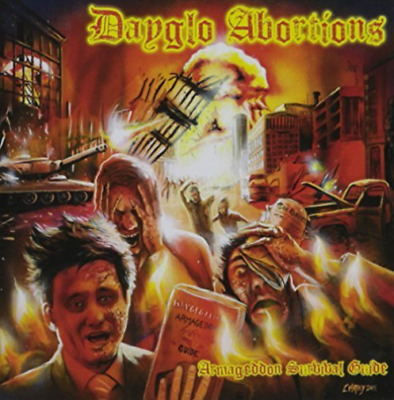 DAYGLO ABORTIONS-ARMA GEDDON SURVIVAL GUIDE (CAN) (US