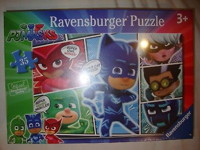 PJ Masks Jigsaw Puzzle 35 Piece Jigsaw For Ages 3 And Up