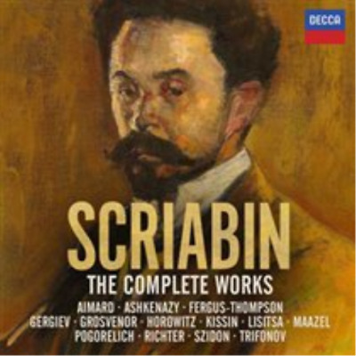 Scriabin: The Complete Works CD NEW