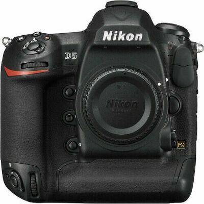 **BRAND NEW** Nikon D5 DSLR XQD Camera Body Black **2 Year