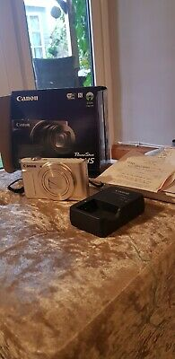 CANON PowerShot SX620 HS Superzoom Compact Camera - White in