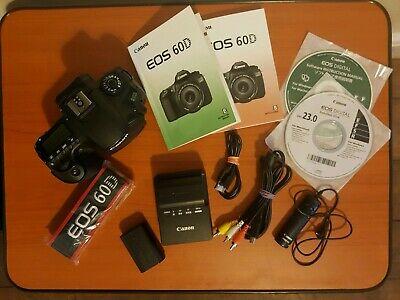 Canon EOS 60D Body 18.0MP Digital SLR Camera with original