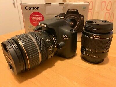 Canon EOS D 18MP Digital SLR Camera - Black EFS