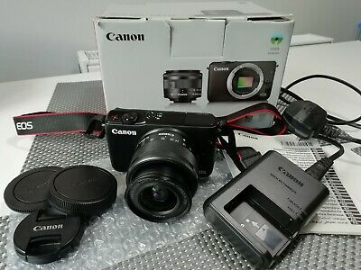 Canon EOS M10 DSLR Mirrorless Camera with mm IS STM