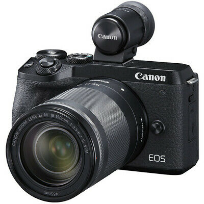 Canon EOS M6 II mm IS STM EVF-DC2 Black (Multi) in