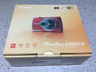 Canon PowerShot A IS 16MP Digital Camera 5x Optical Zoom