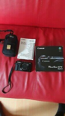Canon PowerShot G7 X Mark II 20.1 MP Digital Camera plus a