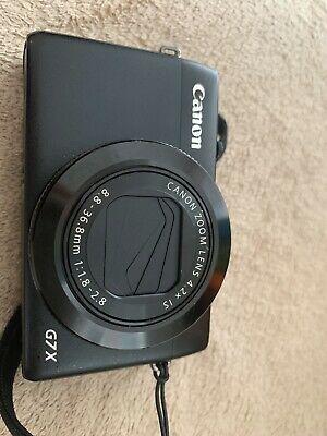 Canon PowerShot G7X 20.2MP Digital Camera - Black with USB