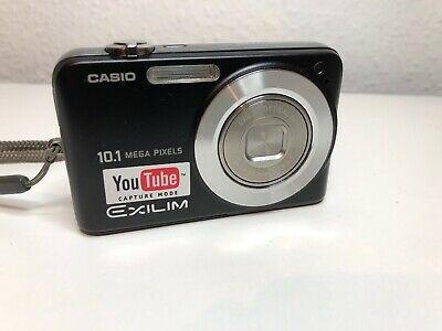 Casio EXILIM ZOOM EX-ZBK 10.1MP Black Digital Camera