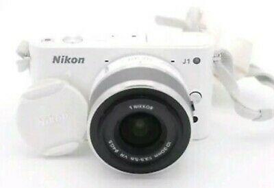 Nikon 1 JMP Digital Camera - White mm Lense