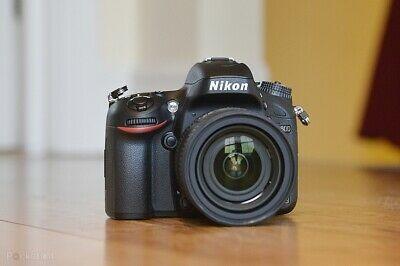 Nikon D600 Full Frame Pro Digital SLR Camera and Lens