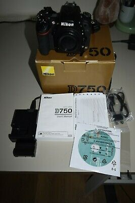 Nikon D750 DSLR 24.3mp Body Only-low Shutter Count