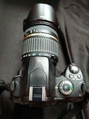 Nikon DMP Digital SLR Camera - Black (Kit w/  mm