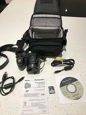 Panasonic LUMIX DMC-LZMP Digital Camera, Black, 4 GB