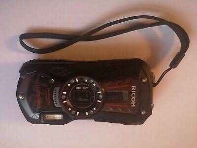 RICOH WG-30 Black Waterproof Digital Camera
