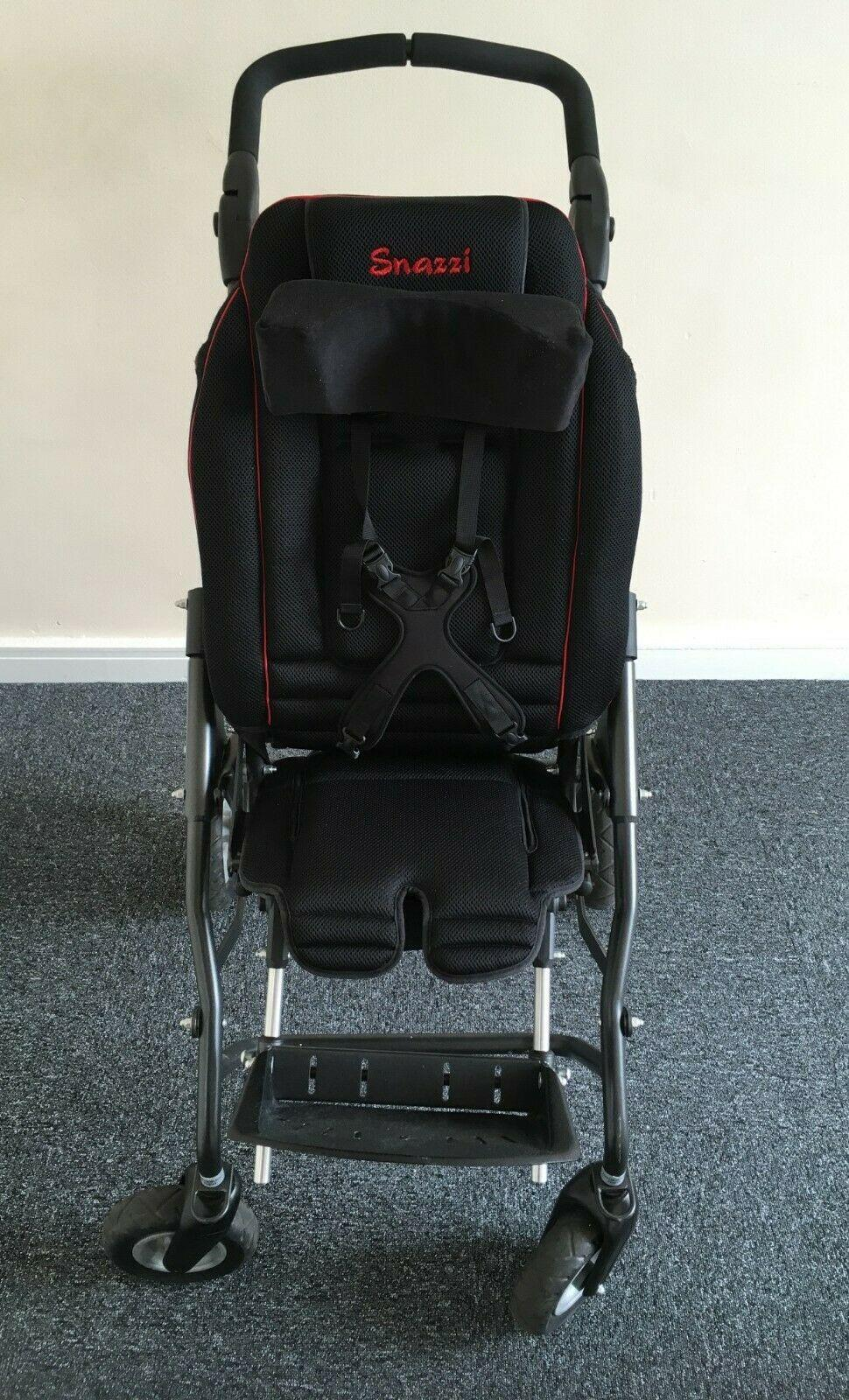 Snazzi Tendercare Specialist Wheelchair Pushchair all in one