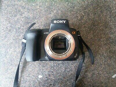 Sony Alpha AMP Digital SLR Camera - Black (Body