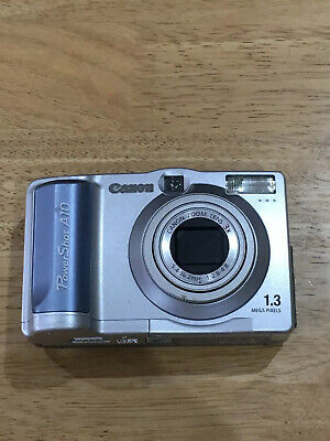 Vintage Canon Powershot Amp Digital Camera Canon Zoom